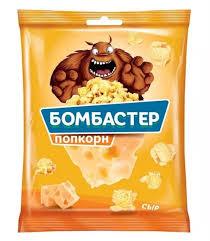 """Попкорн со вкусом сыра """"Бомбастер"""" 35гр."""