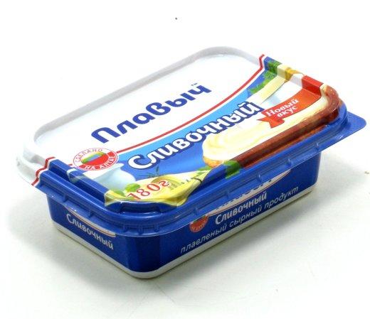Сыр Плавыч сливочный, 180г