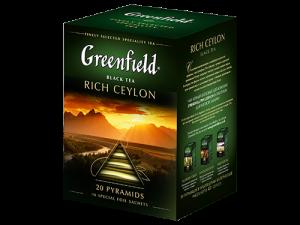 Чай Greenfield Rich Ceylon черный пирамидки 20 шт.