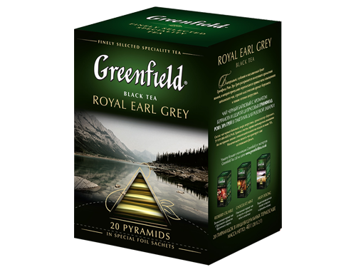 Чай Greenfield Royal Earl Grey черный пирамидки 20 шт.