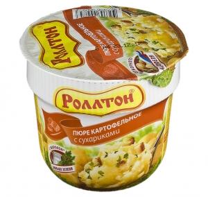 Роллтон Пюре картофельное в ассортименте  40 гр.