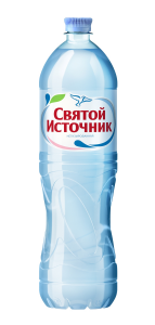 """Вода """"Святой источник"""" негазированная 1,5 л."""