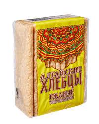 Алтайские хлебцы ржаные  75 г