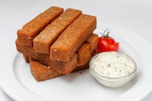 """Гренки """"Гаринские"""" с чесноком из белого хлеба 140 гр."""