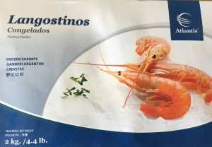 """Лангустины """"Atlantis"""" 2 кг."""