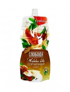 """Соус """"Слобода"""" в ассортименте 200мл (сырный, чесночный, горчичный, цезарь)"""