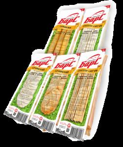 """Сыр """"БАРС"""" спагетти копченая 100 гр."""