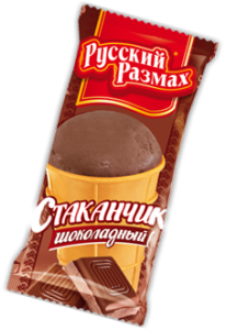 """Мороженое """"Русский Размах""""шоколадное 60 г"""