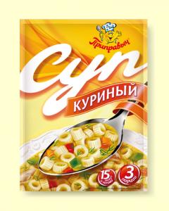"""Суп Куриный """"Приправыч """" 60гр"""
