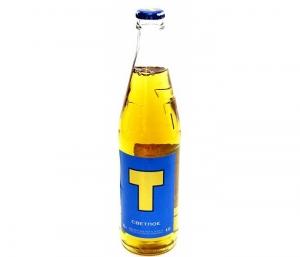 """Пиво """"Т"""" светлое 4,4% с/б 0,5 л."""