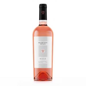 """Вино """"Пино нуар"""" с защищенным географическим указанием """"Кубань. Таманский полуостров"""" (Golubitskoe estate) сухое розовое 12,2% 0,75 л."""