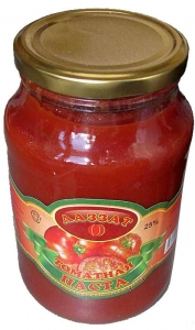 """Томатная паста """"Лаззат"""" 550 гр.(Республика Таджикистан)"""
