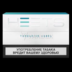Нагреваемые табачные палочки (стики) «HEETS Turquoise Label» (Бирюзовый)