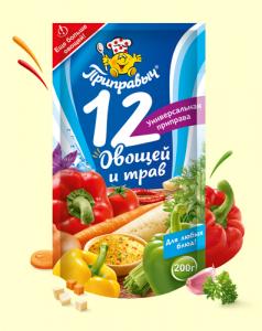 """Приправыч """"Приправа универсальная. 12 овощей и трав"""" 200гр"""