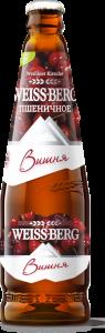 """Пивной напиток """"Вайс Берг"""" пшеничное со вкусом вишни нефильтров. (Бочкари) с/б 4,0% 0,5 л."""