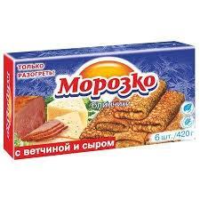 """Блинчики с ветчиной и сыром """"Морозко"""" 420 гр."""