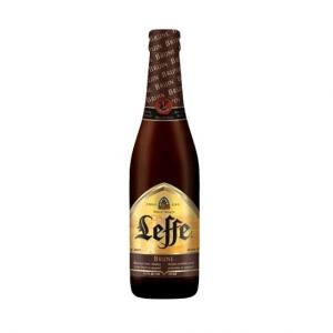 Пиво Леффе Брюне ст/б 0,33 л.
