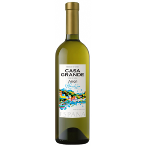 """Вино защищенного географического указания """"Каса Гранде Айрен"""" п/сл белое 11,5% 0,75 л. Испания"""