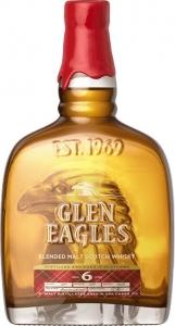 """Виски солодовый """"Глен иглс"""" выдержка шесть лет 0,5 л 40%"""
