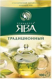 """Чай """"ЯВА"""" зелёный листовой 100гр."""