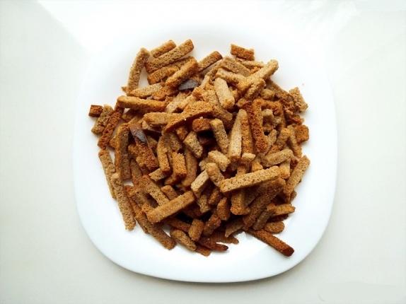 """Сухарики """"Гаринские"""" со вкусом хрен/холодец вес 1 кг."""
