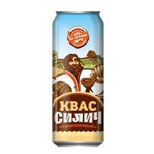 "Квас ""Силич"" ж/б 0,45 л."
