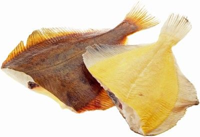 Камбала б/г желтое брюшко свежемороженая вес